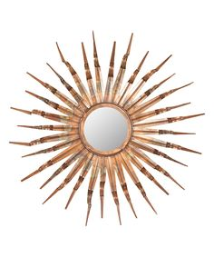 Burnt Copper Tangier Wall Mirror