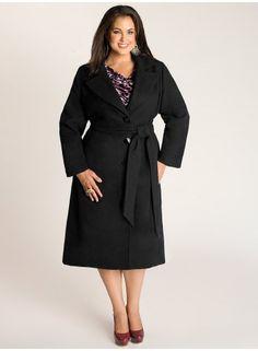 Hanna Coat in Black. IGIGI by Yuliya Raquel. www.igigi.com