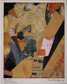 History Lesson — Kurt Schwitters (1887-1948)   San Francisco Collage Collective ll SFCC