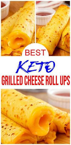 keto dinner recipes Keto grilled cheese has never tasted so good! Simple low carb recipe for the BEST keto grilled cheese roll ups. This is a spin on the traditional grilled cheese sandwich with a yummy roll up. Quick Snacks, Quick Meals, Keto Snacks, Keto Meals Easy, Simple Snacks, Low Carb Keto, Low Carb Recipes, Grill Cheese Roll Ups, Grilled Cheese Rolls