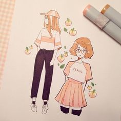 Aesthetic cute drawing Girl Aesthetic Drawings Tomorrow So Im Pumped ୧ʕᴥʔ୨ Cute Drawings Pinterest 848 Best Aesthetic Drawing Images In 2019 Paintings Ideas For