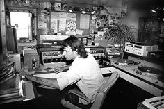 Radio Caroline - Studios - Changing Technology