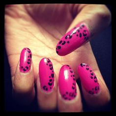 Nails By Heladita © - Pink Panther