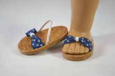 American Girl 18 inch doll SANDALS SHOES by loreliecreations