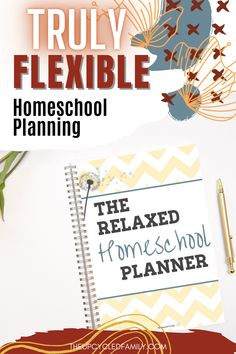 Want to have a truly flexible way to plan your homeschool? Now you can!  The Relaxed homeschool planner was designed with secular, irregular schedule, unschoolers and relaxed homeschoolers in mind. Finally homeschool planning made easy Happy Planner, Planner Diy, Printable Planner, Curriculum, Make It Simple, Homeschooling, Organization, Activities, How To Plan