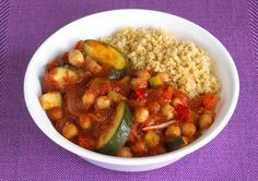 Try with cauliflower rice instead of couscous