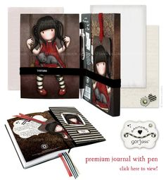 New Ruby Gorjuss Premium Journal