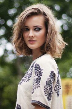 orta boy saç modelleri ve modası 2014