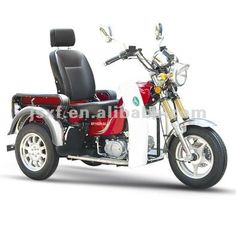 2016 gasolina Discapacitados Triciclo para adultos, discapacitados triciclo, scooter de tres ruedas