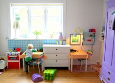 what a lovely kids space!