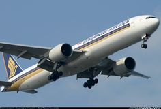 Singapore Airlines 9V-SWB Boeing 777-312/ER aircraft picture