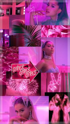 Ariana Grande – 7 Rings … – A - Ariana Grande Images, Ariana Grande Fotos, Ariana Grande Tumblr, Ariana Grande Background, Ariana Grande Wallpaper, Pink Wallpaper Iphone, Tumblr Wallpaper, Bad Girl Aesthetic, Pink Aesthetic