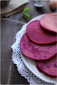 pancakes à la betterave - Chef Nini