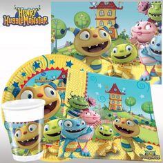 Disney Henry HuggleMonster Party Pack for 8   Henry HuggleMonster Party - kids-partyshop.co.uk
