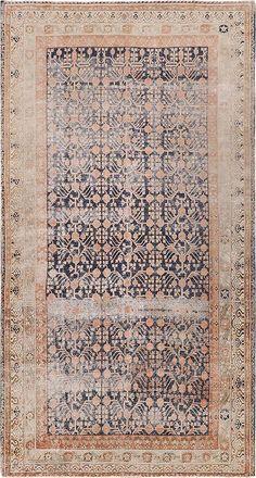 "ANTIQUE SAMARKAND Origin: EAST TURKESTAN Size: 8'3"" x 15'4"" Rug ID # 10340"