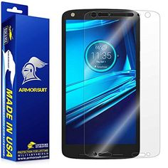 ArmorSuit MilitaryShield  Motorola Droid Turbo 2 Screen Protector AntiBubble  Extreme Clarity HD Shield  Lifetime Replacement ** Details can be found by clicking on the image.