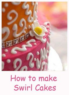 How To Make Swirl Cakes By Elinor
