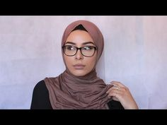 3 Most Worn Hijab Styles With Glasses Demonstration - YouTube