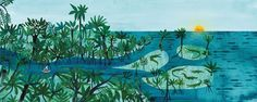 A River - picture book on Behance