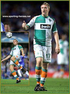 Ivan Klasnic - once playing at my fav football team Werder Bremen