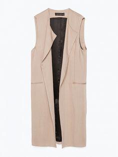 Long Waistcoat by Zara
