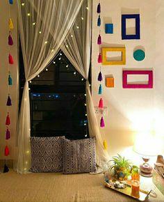Indian Room Decor, Indian Bedroom, Indian Living Rooms, Home Decor Furniture, Home Decor Bedroom, Living Room Decor, Bedroom Signs, Bedroom Ideas, Master Bedroom
