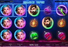 Игровой автомат Diamond Vapor на реальные деньги с выводом. Игровой аппарат Diamond Vapor понравится любителям крупных денежных выплат и электронных сигарет. Начав играть в этот автомат, вы сможете вывести реальные призы и приятно провести время.   Получайте деньги от вей