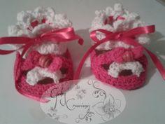 Sandalias #crochet #lindasCreaciones♥