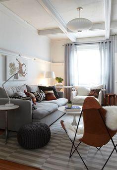 Small living room design ideas 2018 - Home Decoration Eclectic Living Room, Small Living Rooms, Cozy Living, My Living Room, Home And Living, Living Room Designs, Living Room Decor, Modern Living, Living Area