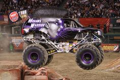We compile a list of the ten coolest 'Monster Jam' monster trucks currently on the road. Big Monster Trucks, Monster Mud, Monster Truck Birthday, Toy Trucks, Mohawk Warrior, Automobile, Cool Monsters, Courses, Fantasy Creatures