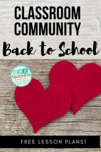 The heart of back to school 2020  classroom community and how to build it
