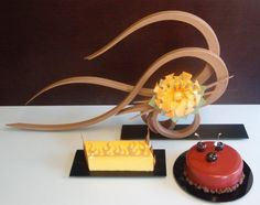 Chocolate Sculpture and Entremets