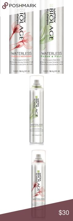 Biolage Dry Shampoo Duo 🌟2 FREE Biolage Samples with this Purchase🌟 Makeup