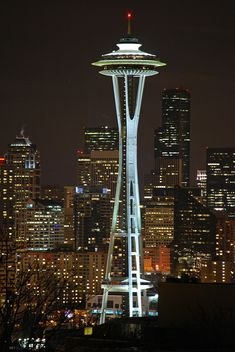 The Space Needle, Seattle, Washington.