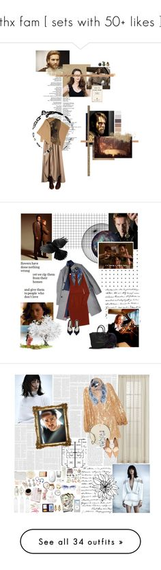 """""""thx fam [ sets with 50+ likes ]"""" by starnahelena ❤ liked on Polyvore featuring J.W. Anderson, Episode, House of Nomad, Dr. Martens, La Petite S*****, Delpozo, Anne Klein, BotFCs1, B. Ella and Scully"""