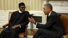 Buhari meets Obama in White House - http://www.77evenbusiness.com/buhari-meets-obama-in-white-house/