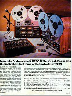 picture of Teac recording equipment in 1976 Lafayette Radio catalog
