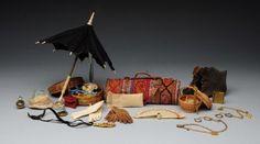 Lot of Antique Accessories. : Lot 56