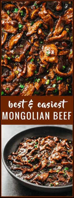 Healthy Meals Best authentic easiest mongolian beef - Mongolian beef is an easy and fast stir-fry recipe with tender beef slices and a bold sticky sauce with a hint of spiciness. It's served with steamed rice or noodles. Mongolian Beef Recipe Pf Changs, Easy Mongolian Beef, Mongolian Beef Recipes, Mongolian Beef And Broccoli Recipe, Authentic Mongolian Beef Recipe, Crockpot Mongolian Beef, Panda Express Mongolian Beef Recipe, Mongolian Chicken, Korean Recipes