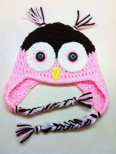 Crochet Owl Hat  •  Make an animal hat in under 120 minutes