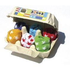 Etoiles Soggs Socks Baby in Egg Box