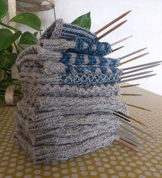 7 helppoa ideaa sukanvarteen - oikea ja nurja silmukka riittävät! Knitting Patterns Free, Free Pattern, Different Stitches, Yarn Crafts, Knitting Projects, Knitting Socks, Diy Clothes, Handicraft, Mittens