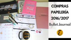 Haul Compras de Papelería (Material Escolar 2016/2017) Charuca, Bullet Journal y mucho más   https://www.youtube.com/watch?v=AKtLXpGEISk