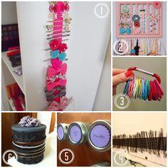 6 Easy Ways to Organize Hair Accessories
