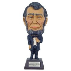 Abraham Lincoln Big Head Little Body Great Collector