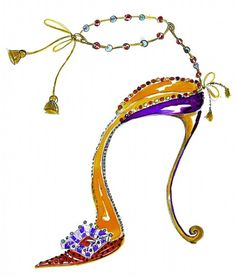 Manolo Blahnik and the Tale of the Elves and the Shoemake Givenchy, Valentino, Fashion Shoes, Fashion Accessories, Shoe Sketches, Creative Shoes, High Heel Sneakers, Manolo Blahnik Heels, Flower Shoes