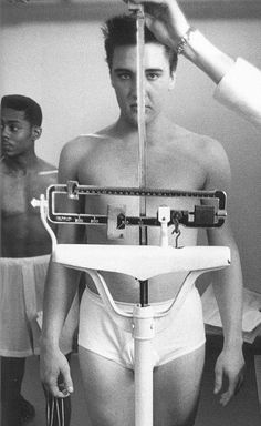 Elvis,1958 In the Army now.