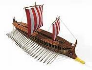 Greek War Ship