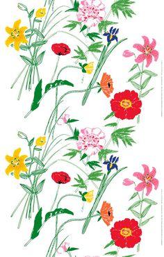 Puutarhakutsut, design by Fujiwo Ishimoto for Marimekko.