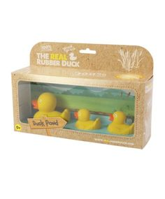 The Real Rubber Duck Family